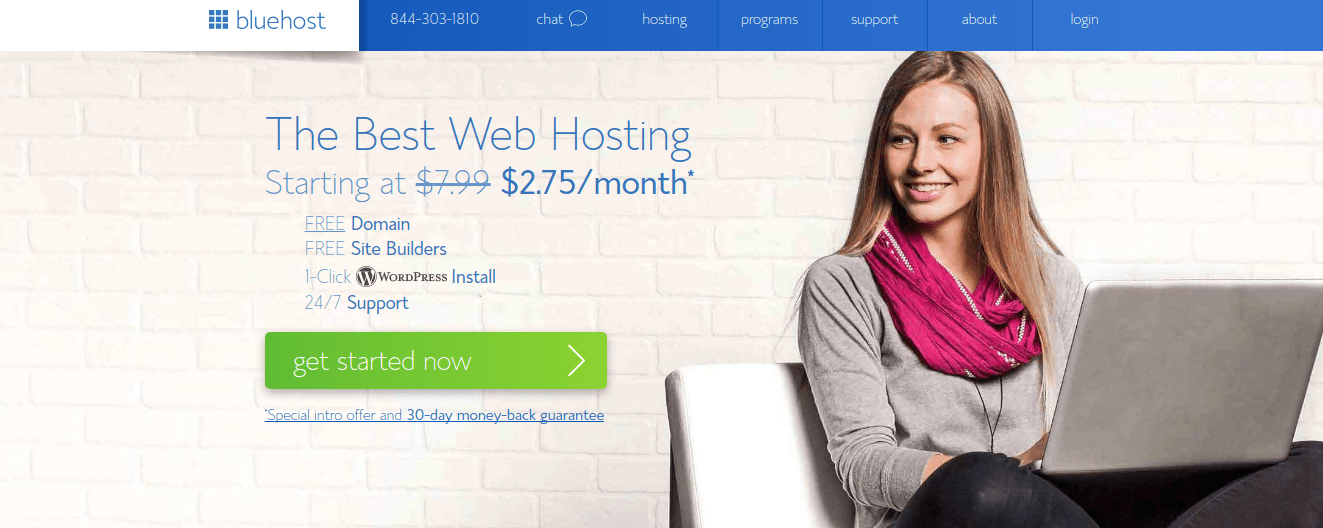 BlueHost Hosting Domain Gratis